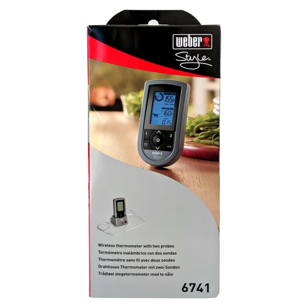 Weber Style 6741 Drahtloses Thermometer