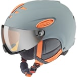 Uvex Hlmt 300 Visor Grey-Orange