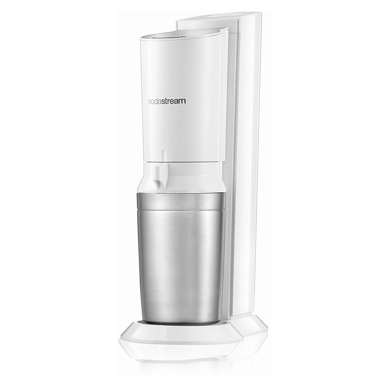 SodaStream Crystal 2.0 white inkl. 2. Glaskaraffe Wassersprudler