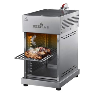 GOURMETmaxx Gas-Oberhitzegrill Beef Maker 6-tlg.