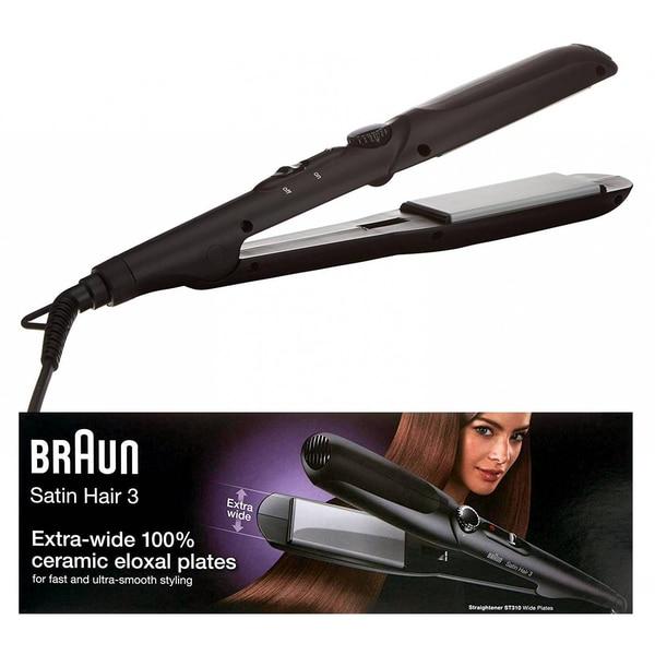 Braun Satin Hair 3 ES1 MN Glätteisen, Haarglätter