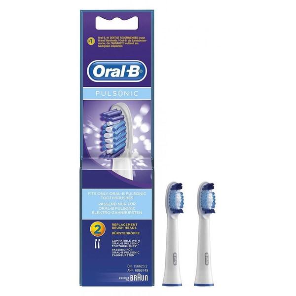 Oral-B Pulsonic SR32 Aufsteckbürsten für elektrische Zahnbürsten 2 Stück
