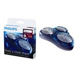 Philips TripleTrack Scherköpfe für HQ81, HQ82, HQ91, PT9 und AT9 Serien (HQ9/50)