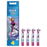 Oral-B Stages Power EB10K Aufsteckbürsten Die Eiskönigin für elektrische Kinderzahnbürsten 4Stück