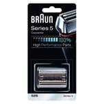 Braun Kombipack 52S Elektrorasierer Ersatzscherteil Silber