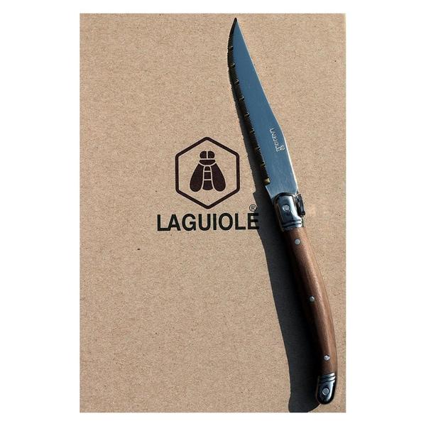 Laguiole Steakmesser Walnussgriff 6-teilig