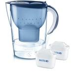 Brita Marella XL blue incl. 2x Maxtra Plus Kanne & Wasserfilter