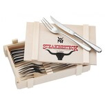 WMF Steakbesteck 12-tlg. in Holzkiste