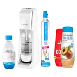 SodaStream Cool Megapack + 2 Flaschen + 2 Sirup