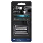 Braun Kombipack 21B Elektrorasierer Ersatzscherteil schwarz