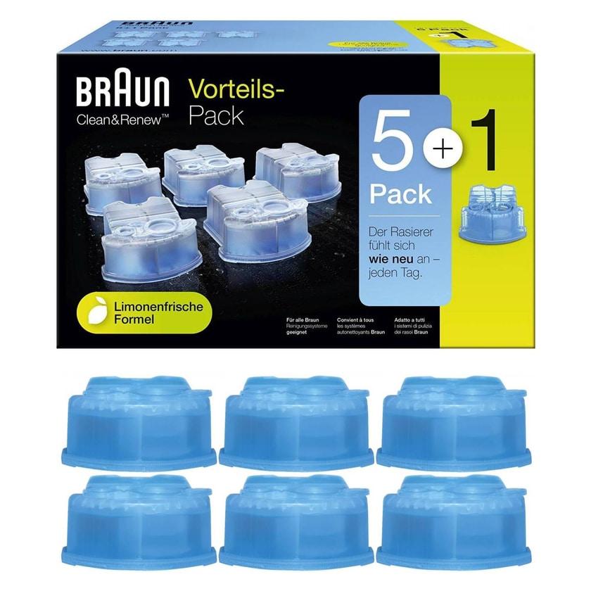 Braun Clean&Renew Reinigungskartusche 6er-Pack