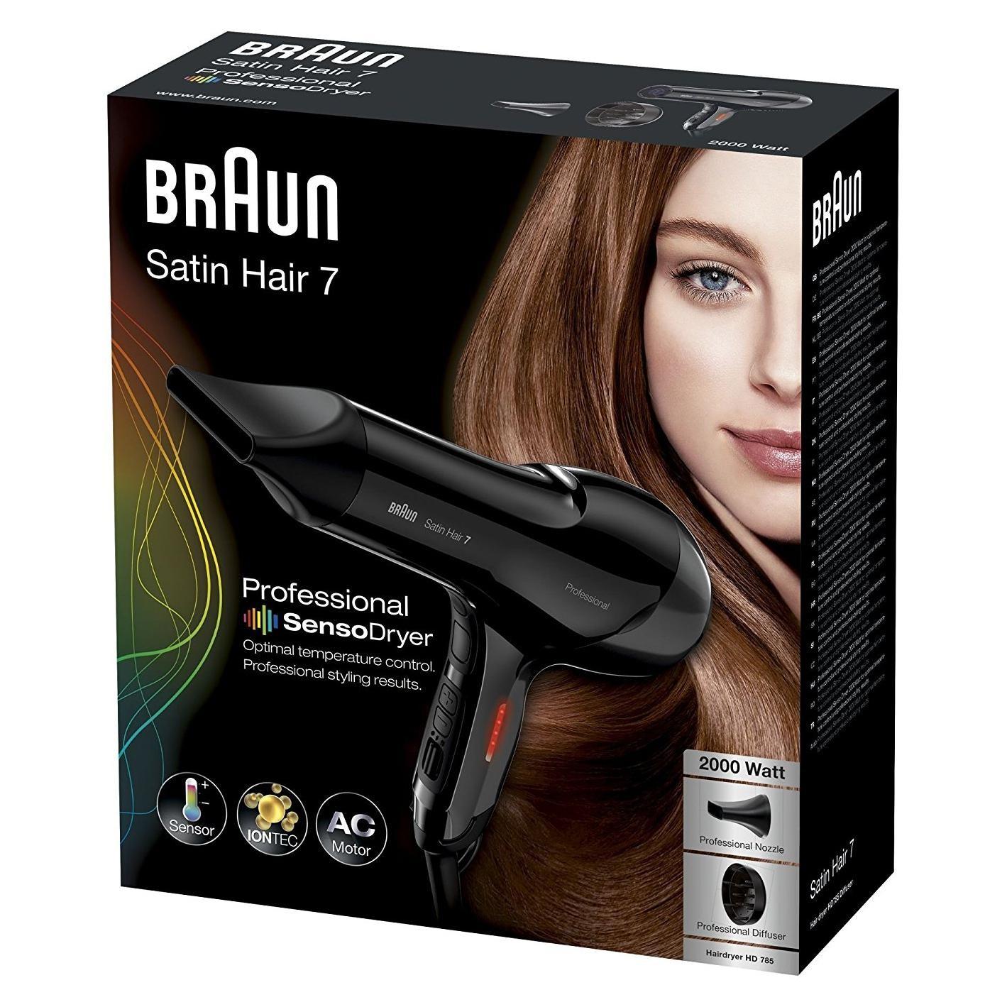 Braun Satin Hair7 SensoDryer HD785 professioneller Haartrockner