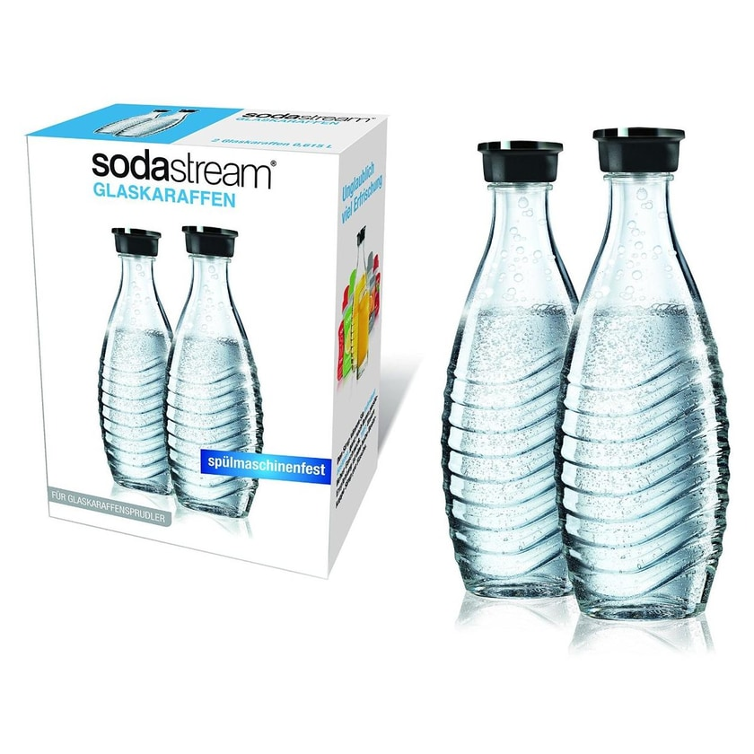 SodaStream Glaskaraffe 0,6 L Duopack