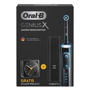 Oral-B Genius X Limited Design elektrische Zahnbürste inkl. Braun Wecker