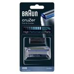 Braun Kombipack 20S Elektrorasierer Ersatzscherteil Silber