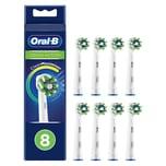 Oral-B Cross Action EB50RB-8 CleanMaximizer Ersatzbürsten