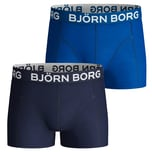 Björn Borg Solid Core 2er Pack Boxershorts Herren