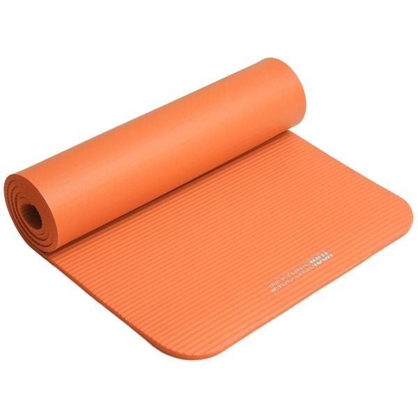 yogistar Fitnessmatte Gym 10mm orange