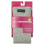 yogistar Yoga Armwärmer stone grey
