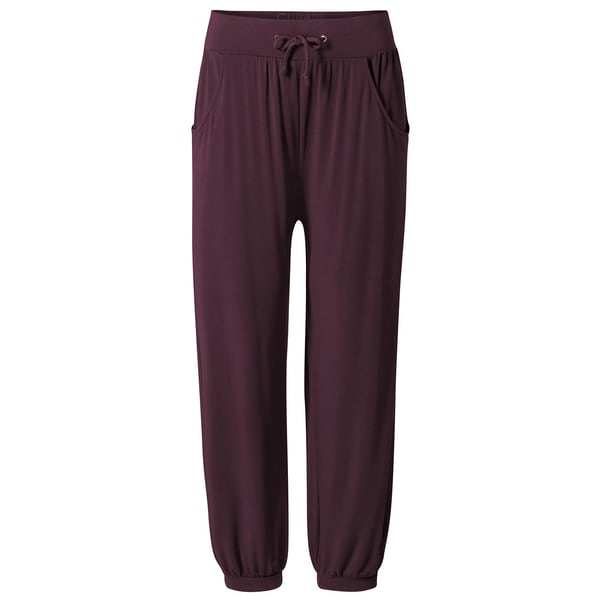 Curare Long Pants relaxed kastanie
