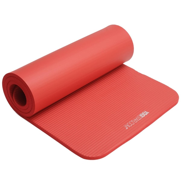 yogistar Fitnessmatte Gym 15mm red