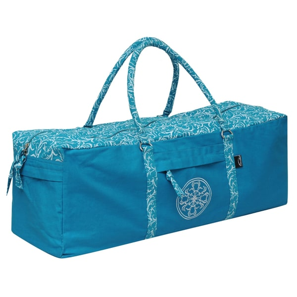 Yogishop Yogatasche all-in cotton vintage turquoise