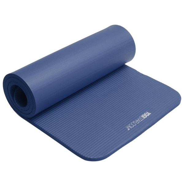 yogistar Fitnessmatte Gym 15mm blue