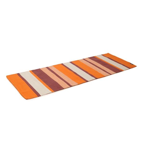 Yogishop Yogateppich cotton rug striped desert