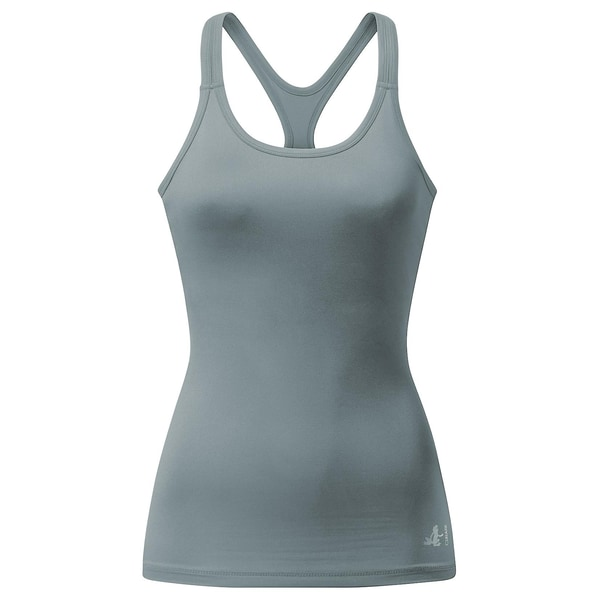 Curare Yoga-Tank-Top french grey