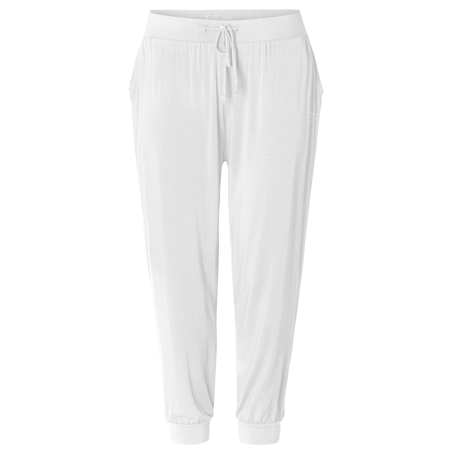 Curare Yoga Curves Collection Long Pants relaxed white