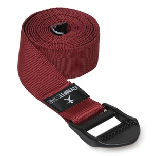 Gymfitstar Yogagurt für Yoga, Pilates & Fitness PB 210cm bordeaux