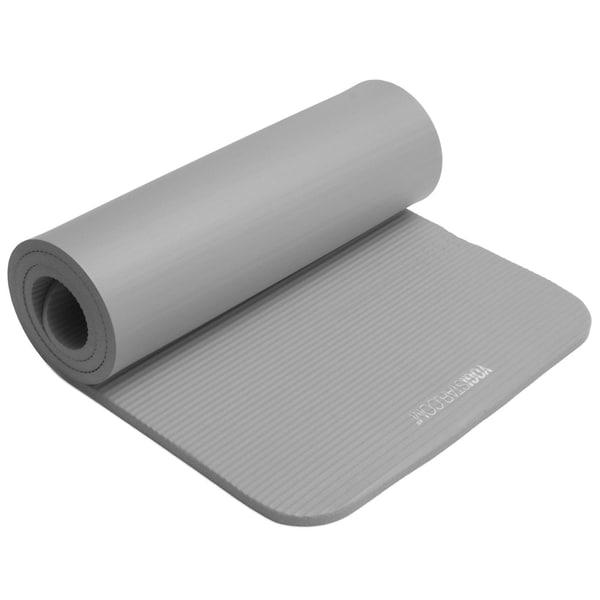 yogistar Fitnessmatte Gym 15mm grey