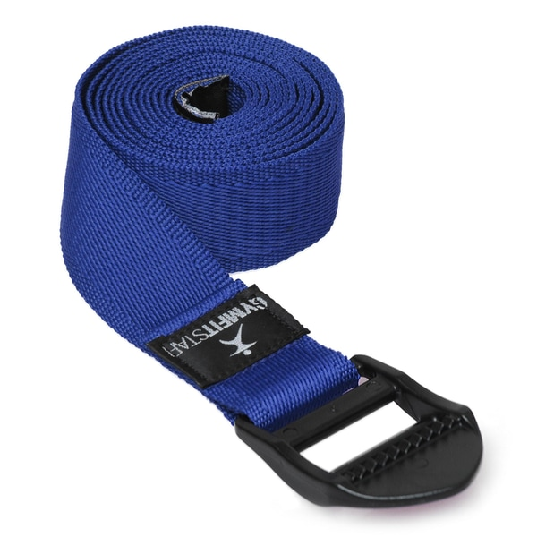 Gymfitstar Yogagurt für Yoga, Pilates & Fitness PB 210cm blue
