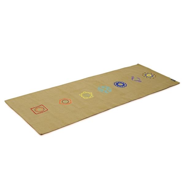 Yogishop Yogateppich cotton rug chakra sea weed