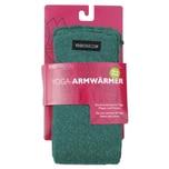 yogistar Yoga Armwärmer emerald green