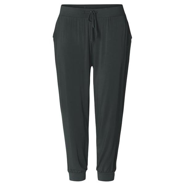 Curare Yoga Curves Collection Long Pants relaxed tafelgrau