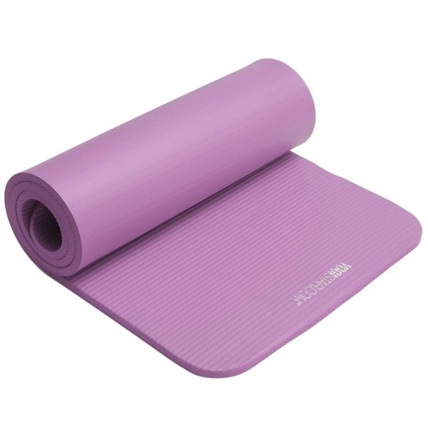 yogistar Fitnessmatte Gym 15mm violet