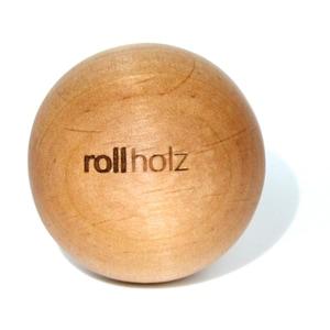 Rollholz rollholz Faszienkugel / Massage-Kugel aus Erle
