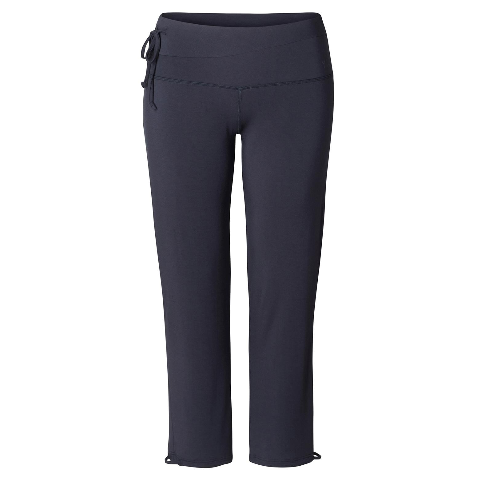 Curare Yoga Curves Collection Straight long pants midnight blue