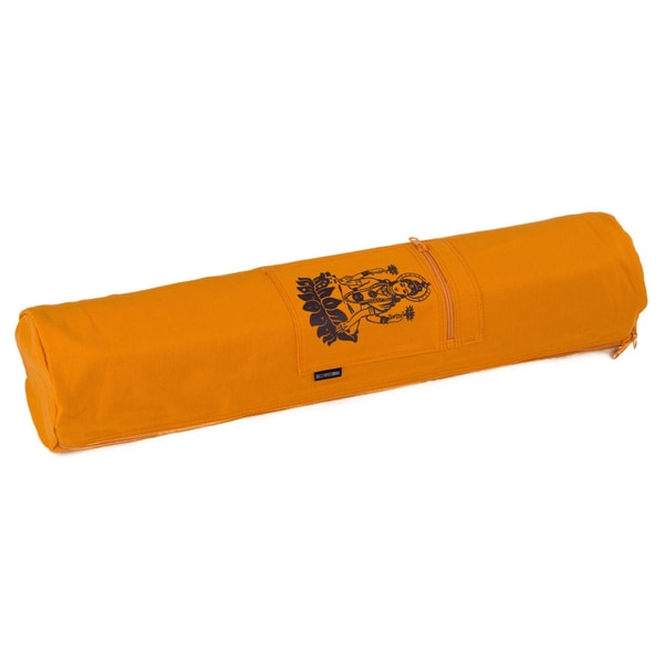 yogistar Yogatasche basic zip cotton art collection 65 cm lakshmi safran