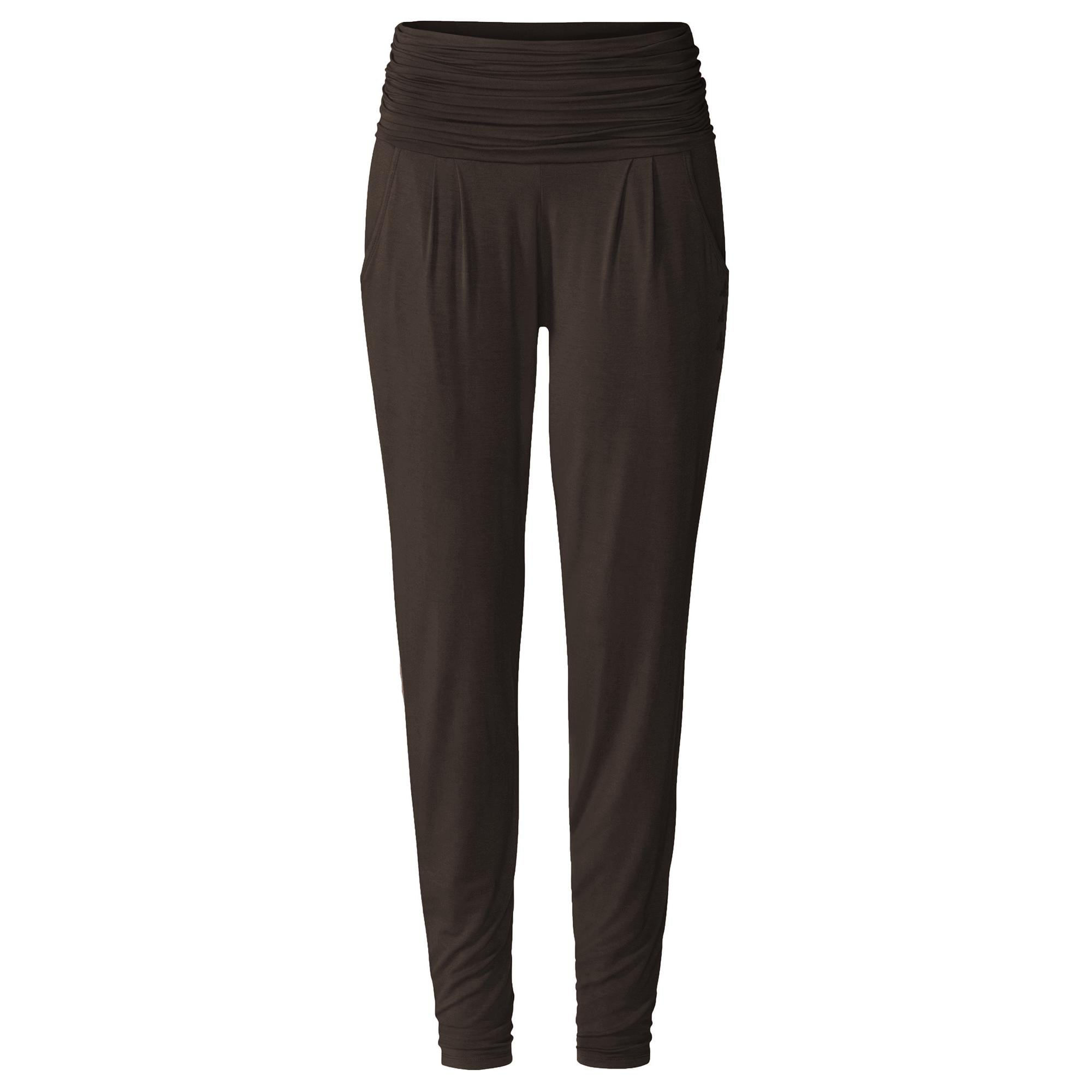 Curare Long Pants roll down chocolate