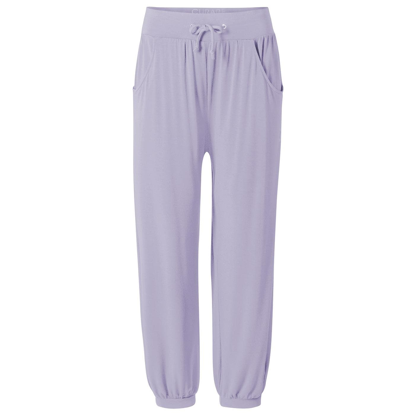 Curare Long Pants relaxed pearl