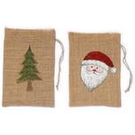 Christmas Goods by Inge 2er-Set Jute Säckchen H25cm
