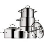 WMF 5-tlg. Cromargan® Edelstahl Topf-Set Provence Plus