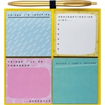 Magnetisches Board mit Haftnotizen Set Notes To Self