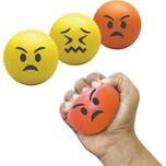"Bubblegum 3-tlg. Stressball Set ""Emoji"""