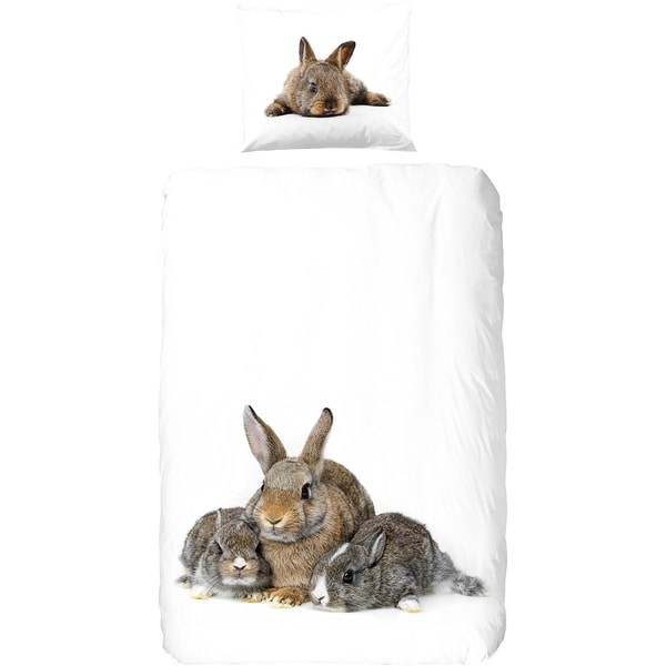 Good Morning Bedlinens Bettwäsche Cute Rabbits