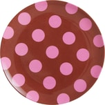 rice Melamin Teller Pink Dots Ø20cm