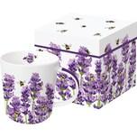 ppd Porzellan-Tasse Bees Lavender 0,35l