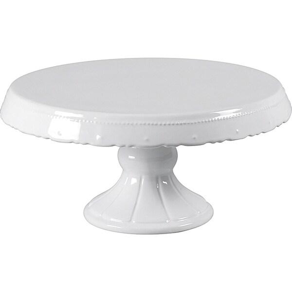 Birkmann Keramik Kuchen- Tortenplatte auf Fuß Ø30 x H15 cm